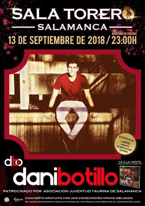 Dani Botillo Sala Torero Salamanca