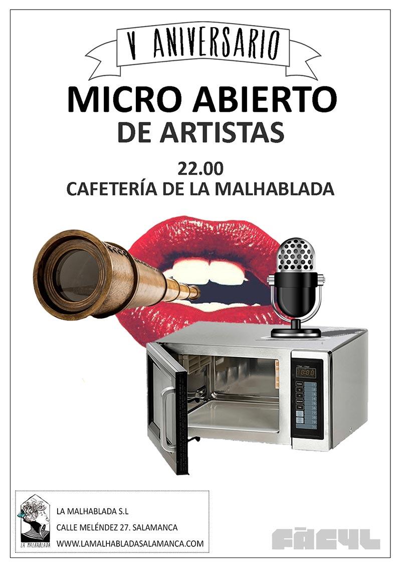 OPEN MIC ACTRICES Y ACTORES La Malhablada