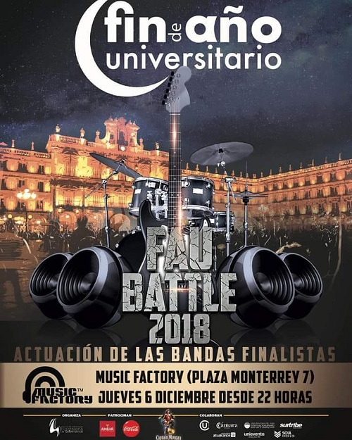 FAU BATTLE 2018, en MUSIC FACTORY