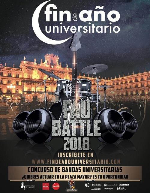 FAU18 (Concurso Bandas Universitarias)