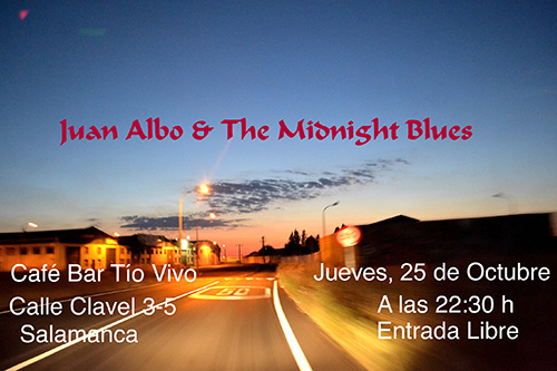 JUAN ALBO & THE MIDNIGHT BLUES