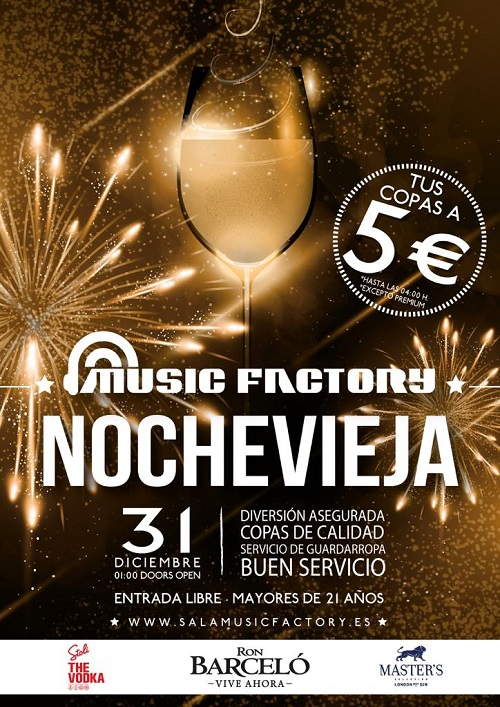 MUSIC FACTORY NOCHEVIEJA