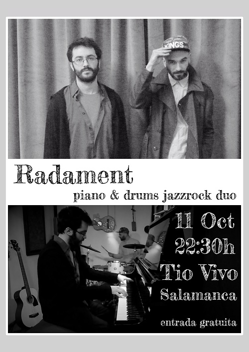 RADAMENT PIANO & DRUMS JAZZROCK DÚO