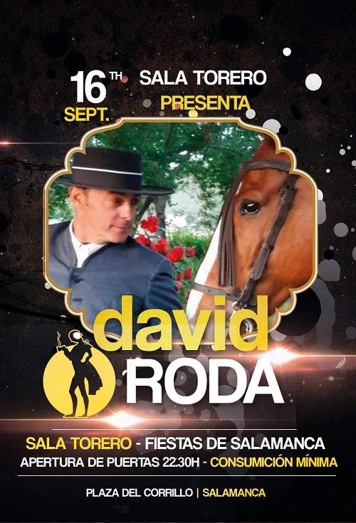 David Roda y su banda al completo Sala Torero Salamanca