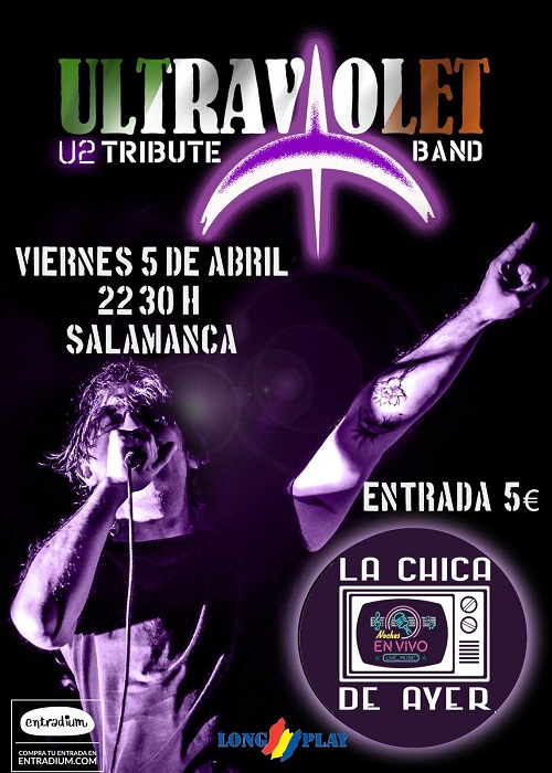 ULTRAVIOLET ''U2 TRIBUTE BAND''