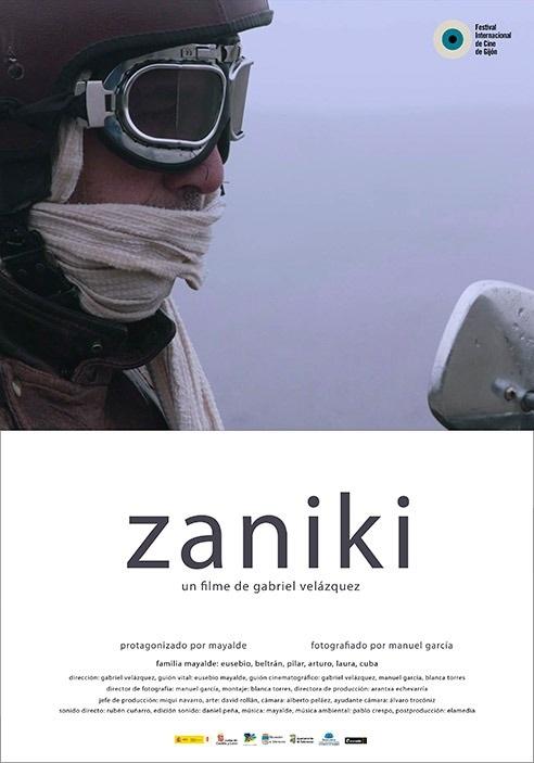 Zaniki película del director salmantino Gabriel Velázquez